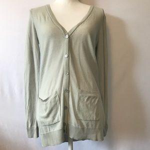 Lauren Conrad LC Long Semi-Sheer Medium Cardigan